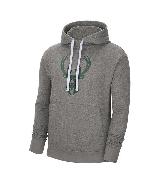 NIKE Bucks Men's Essential Pullover Hoodie