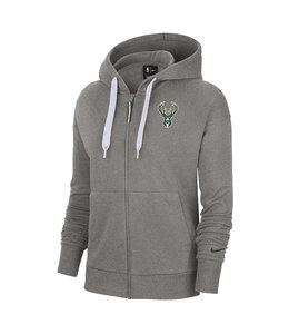 NIKE BUCKS WOMEN'S ESSENTIAL ZIP HOODIE