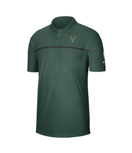 NIKE BUCKS MEN'S STATEMENT POLO SHIRT