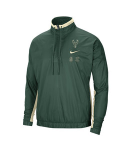 NIKE BUCKS MEN'S COURTSIDE NYLON JACKET