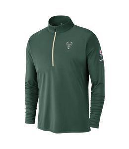 NIKE BUCKS MEN'S ELEMENT 1/2 ZIP TOP