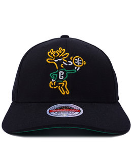 MITCHELL AND NESS BUCKS NEON FLEX SNAPBACK HAT