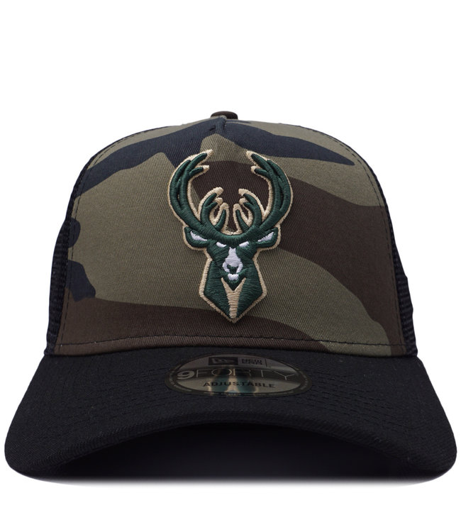 NEW ERA Bucks Pattern 9Forty Trucker Hat