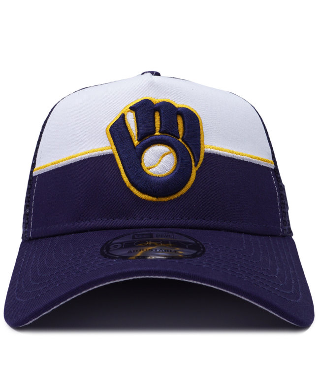 NEW ERA Brewers 9Forty Trucker Hat