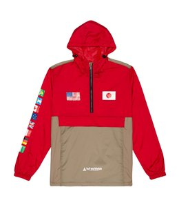HUF HUF FLAGS ANORAK JACKET