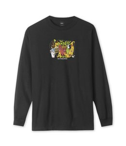 HUF THE MUNCHIES LONG SLEEVE TEE