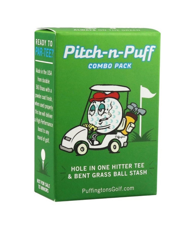 PUFFINGTON GOLF Pitch n' Puff Golf Combo Pack
