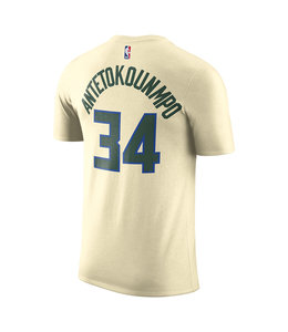 NIKE BUCKS MEN'S GIANNIS CITY EDITION JERSEY TEE