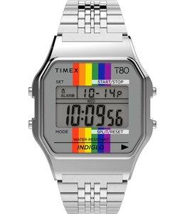 TIMEX T80 RAINBOW DIGITAL WATCH