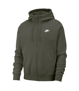 NIKE CLUB FULL-ZIP HOODED SWEATSHIRT