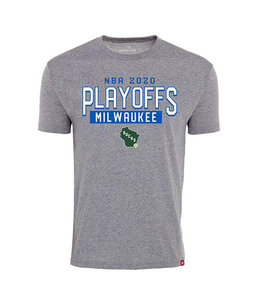 SPORTIQUE BUCKS PLAYOFFS 2020 COMFY STATE TEE