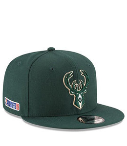 NEW ERA BUCKS PLAYOFFS 2020 9FIFTY SNAPBACK HAT