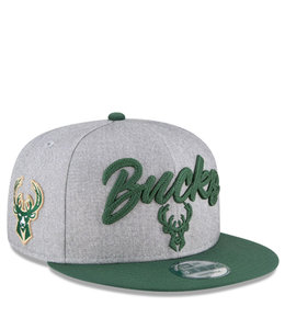 NEW ERA BUCKS '20 DRAFT 9FIFTY SNAPBACK HAT