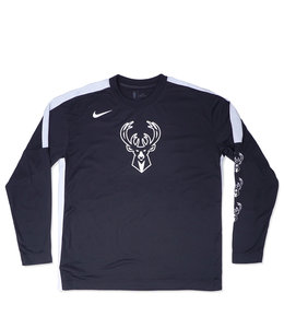 NIKE BUCKS SHOOTING LONG SLEEVE TOP
