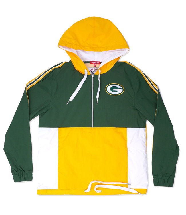MITCHELL AND NESS Packers Women's Windbreaker Jacket