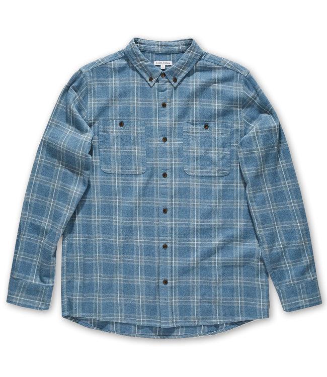 BANKS JOURNAL Vanish Flannel Shirt
