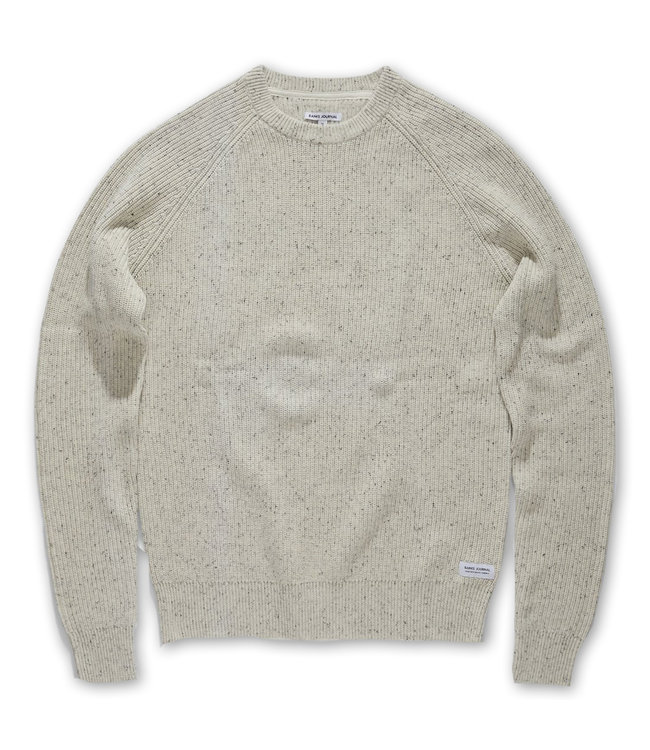 BANKS JOURNAL White Noise Sweater