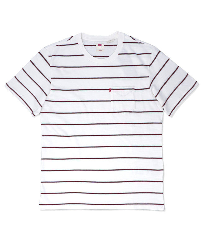 LEVI'S Saturday Stripe Pocket Tee
