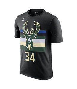 NIKE BUCKS GIANNIS STATEMENT EDITION JERSEY TEE
