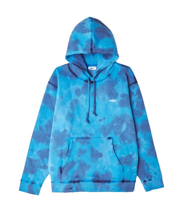 OBEY Sustainable Tie Dye Pullover Hoodie