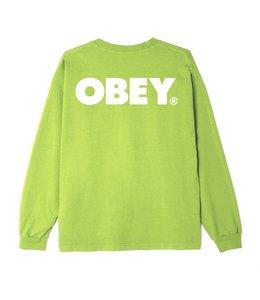 OBEY BOLD HEAVYWEIGHT CUSTOM LONG SLEEVE TEE
