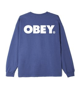 OBEY BOLD HEAVYWEIGHT CUSTOM LONG SLEEVE TEE