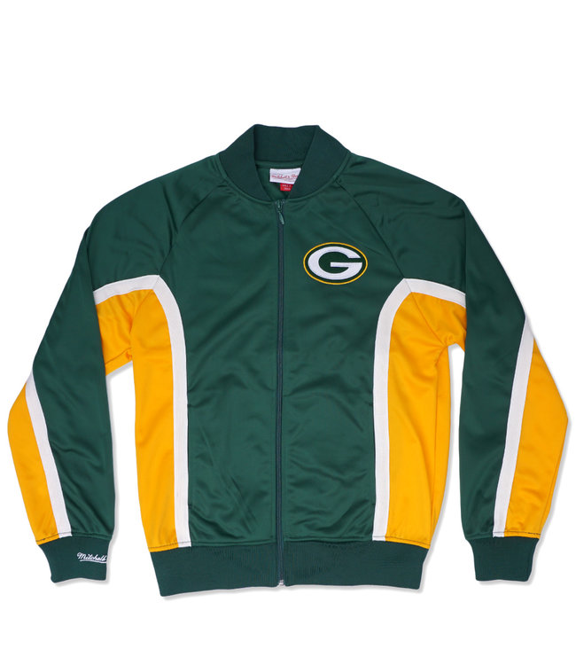 MITCHELL AND NESS Packers Championship Game Track Jacket