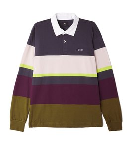 OBEY BENNY LONG SLEEVE POLO