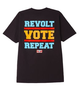 OBEY REVOLT VOTE REPEAT CLASSIC TEE