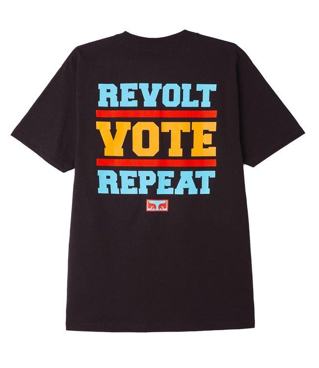 OBEY Revolt Vote Repeat Classic Tee