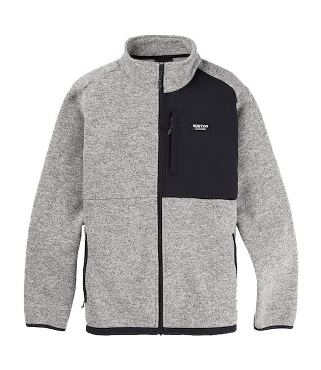 BURTON Hayrider Sweater Full-Zip Fleece