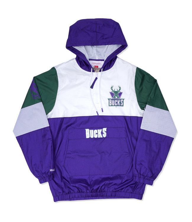 MITCHELL AND NESS Bucks Surprise Win Windbreaker