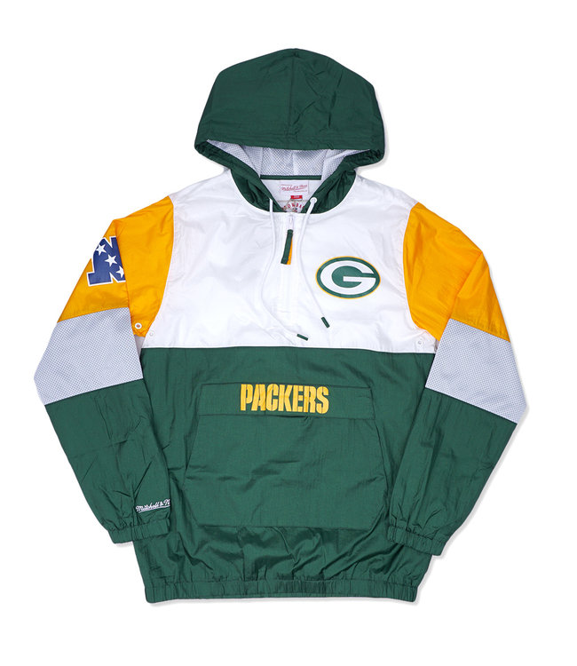 MITCHELL AND NESS Packers Surprise Win Windbreaker
