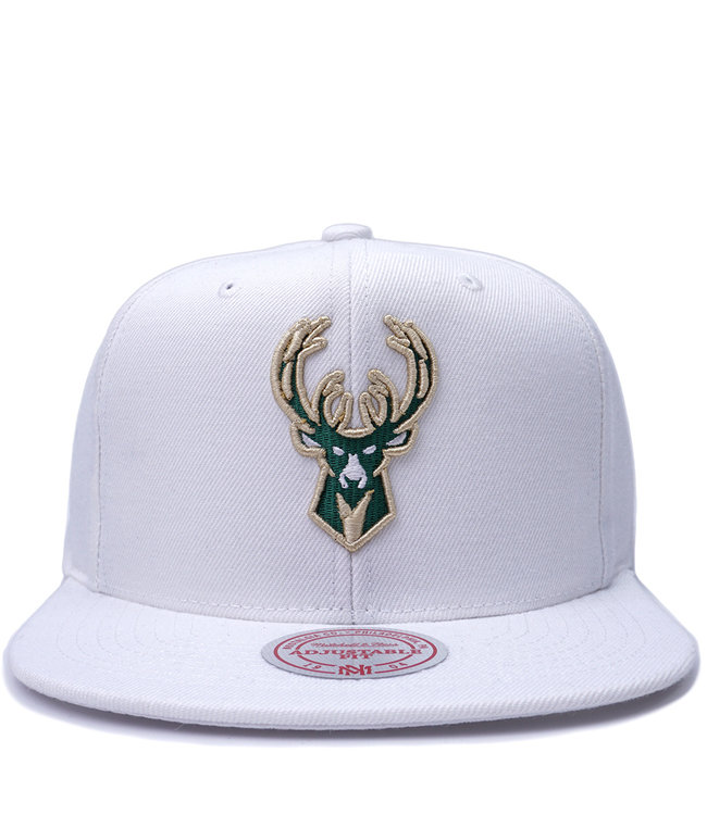 MITCHELL AND NESS Bucks Team Ground Snapback Hat