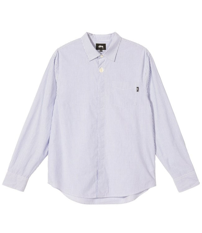 STUSSY Big Button Stripe Shirt