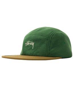 STUSSY FLEECE NYLON MIX CAMP CAP
