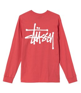 STUSSY BASIC STÜSSY LONG SLEEVE TEE