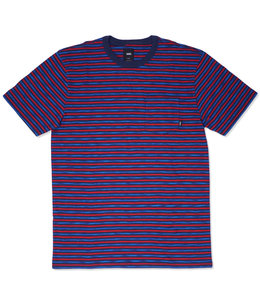 VANS SPACEDYE STRIPE POCKET TEE