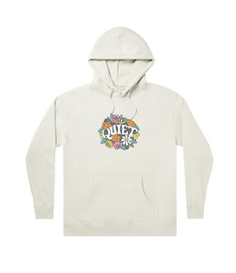 THE QUIET LIFE FLOWERS PULLOVER HOODIE