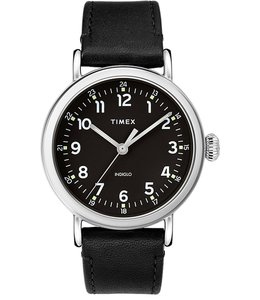 TIMEX STANDARD 40mm LEATHER WATCH