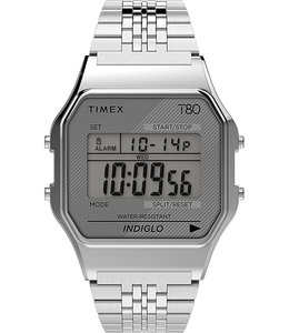 TIMEX T80 STAINLESS STEEL BRACELET WATCH