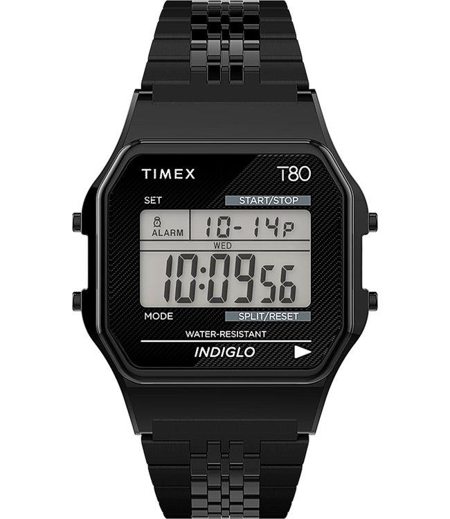TIMEX T80 Stainless Steel Bracelet Watch