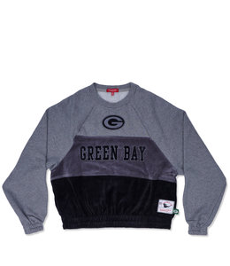 MITCHELL AND NESS PACKERS WOMEN'S VELOUR FLEECE