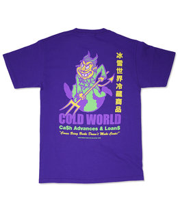 COLD WORLD CASH OUT TEE