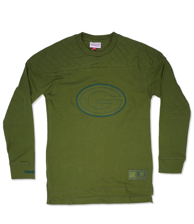 MITCHELL AND NESS Packers Seal The Win Long Sleeve