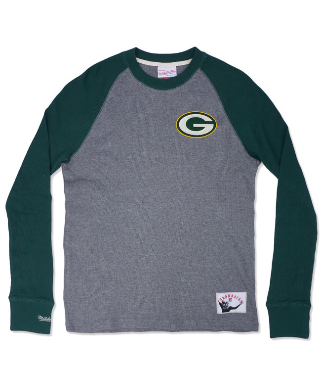 MITCHELL AND NESS Packers Play By Play Long Sleeve Thermal