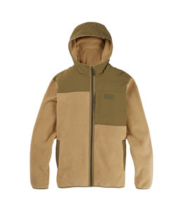 BURTON HEARTH HOODED FULL-ZIP FLEECE