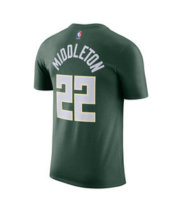 NIKE BUCKS KHRIS MIDDLETON JERSEY TEE