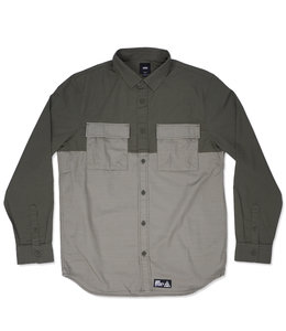 VANS 66 SUPPLY LONG SLEEVE BUTTON DOWN SHIRT