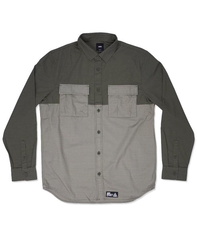 VANS 66 Supply Long Sleeve Button Down Shirt